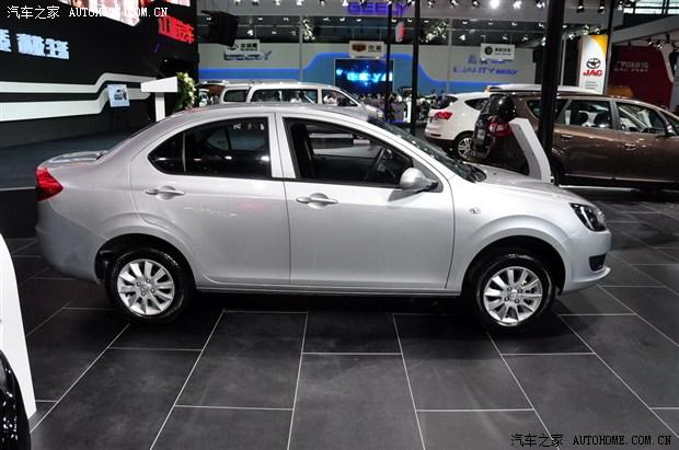 江淮和悦A13小型车发布 外形变化较明显高清图片