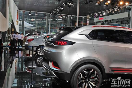 MG首款SUV车型CS无伪谍照 新车将年内推出高清图片